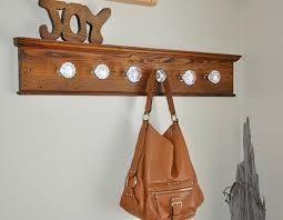 Knob Coat Rack Vintage door knob coat rack 77