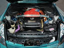 nissan 350z modified engine. Modp 1210 06 2004 Nissan Engine With Modified