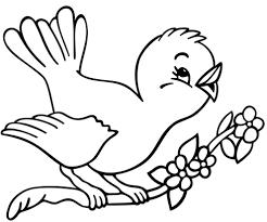 Disegni Da Colorare E Stampare Uccelli Fredrotgans