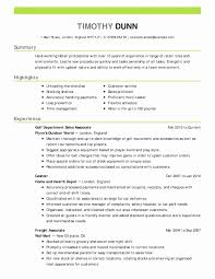 Sample Retail Resume Beautiful Sample Retail Resume Download Resume