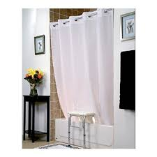 invacare benchbuddy hookless shower curtain invacare benchbuddy hookless shower curtain in white color