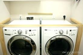 countertop over washer and dryer over washer and dryer installing over washer dryer countertop over washer and dryer