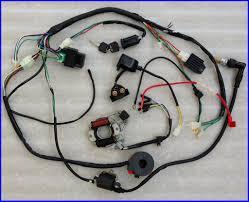 110cc pit bike wiring diagram wiring diagram schematics all electrics atv quad 50 70cc 110cc 125cc coil cdi harness