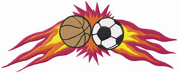 Image result for basketball and soccer