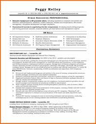 Excellent Idea Human Resources Resume Examples Functional Hr