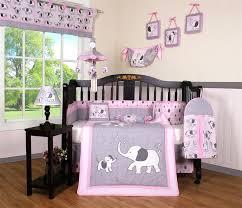 crib bedding set girl baby