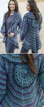 Crochet Circular Vest Pattern Free Extraordinary Crochet Circular Jacket Pattern Free Pinterest Best Ideas