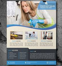 commercial cleaning flyer templates house cleaning flyer template 17 psd format download free