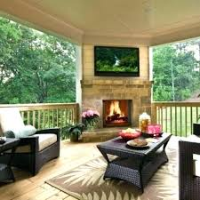 covered deck with fireplace best decks ideas patio designs outdoor covered patio fireplace designs and