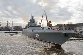 Установки пылеподавления введены в работу на терминале ВСК  В ОСК оценили сроки передачи флоту фрегата Адмирал Горшков