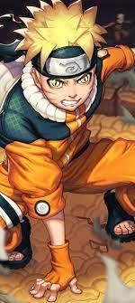 1080x2400 Naruto Uzumaki 4K Art ...