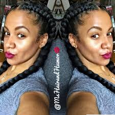 Goddess Hair Style keeping it sweet and simple with two cornrow goddess braids 2021 by stevesalt.us