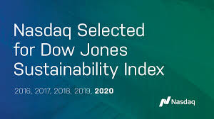 The inclusion was confirmed for the third consecutive time in november 2020, positioning omv among the top 10% oil and gas companies in terms of environmental, social, governance (esg) performance. Nasdaq Named To Dow Jones Sustainability Index For The Fifth Consecutive Year