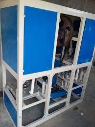1 Hp (single Phase) Paper Dona, Pate, Thali Making Machine(Fully ...