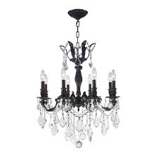 worldwide lighting versailles 8 light flemish brass chandelier with clear crystal