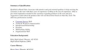 Resume Objective For Retail Sales Associate Gross Sales Affiliate