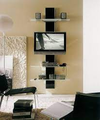 creative entertainment centers wall