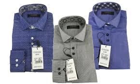 Coogi Luxe Mens Button Down Dress Shirts Groupon