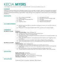 Food Industry Resume Virtren Com