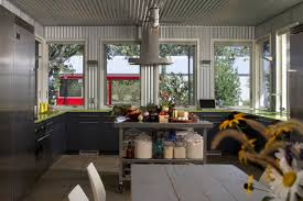 metal home furniture. Metal Interiors_corrugated Kitchen Home Furniture