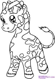 Giraffe Bilder Az Ausmalbilder
