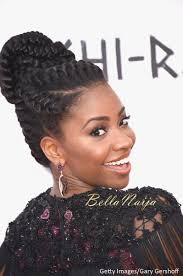 Chi Hair Style naturalhairinspiration teyonah parris goddess braid at the chi 8823 by wearticles.com
