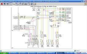 wiring diagram radio the wiring diagram 2000 windstar wiring diagram harness the factory stereo cables