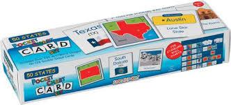 Star Student Pocket Chart 50 States Pocket Chart Card Set 032536 Details Rainbow