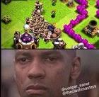 Meme]When you Barch and you hit a giant bomb : ClashOfClans via Relatably.com