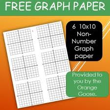 Free Non Numbered 10x10 Graph Paper By Orangegoose Smith Tpt