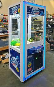 Man Vs Vending Machine Game Custom Claw Machine Prize Crane Game Rental Video Amusement San Francisco