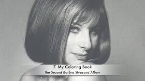 Barbra Streisand Coloring Book Lyrics Barbra Streisand Posters