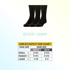 Gold Toe Boys Wide Rib Dress Crew 3 Pair Black Big Boys Medium 9 2 5 786888289248 Ebay