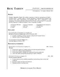 Undergraduate Resume Example Undergraduate Resume Example Resume ...