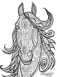 coloring pageshorses printable coloring pages horses tribal horse head color this free of realistic coloring pages coloring pageshorses horse