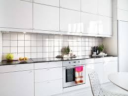 All White Kitchen Designs Decoration Interesting Decorating Ideas