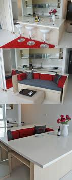 space dining table solutions amazing home design:   banquette dining