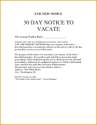 day termination letters letter lease notice to vacate template 30