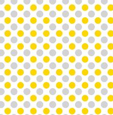 yellow and gray polka dot free
