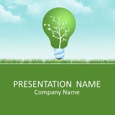 Light Tree Ppt Green Energy Powerpoint Template Powerpoint Template Free