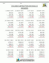 Math Worksheet Decimals Exercises Multiplying Worksheets 5th Grade ...