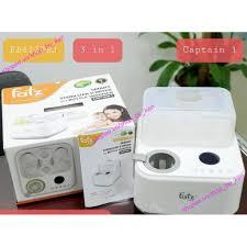Máy tiệt trùng sấy khô hâm sữa điện tử có tích hợp máy hâm sữa Fatzbaby  CAPTAIN 1 - Fatz FB4320SJ giá cạnh tranh