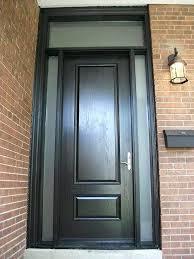 fiberglass executive doors 8 foot single solid front door exterior
