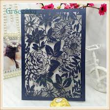 Paper Flower Business 2019 Laser Cut Paper Flowers Leaf Pattern Hollow Out Wedding