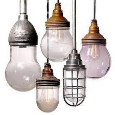 early antique industrial lighting fixtures