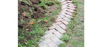 how to lay a brick path the home depot