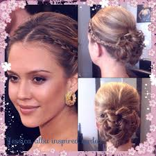 Jessica Alba Updo Hairstyles Jessica Alba Updos Hairstyles Beautiful Long Hairstyle