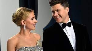 Scarlett Johansson & Colin Jost ...