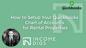 How To Setup Your Quickbooks Chart Of Accounts For Rental Properties