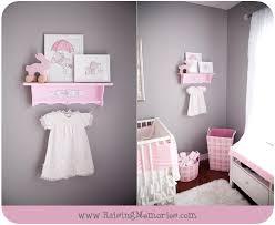 Pink And Gray Nursery Decor Ideas By Www.RaisingMemories.com
